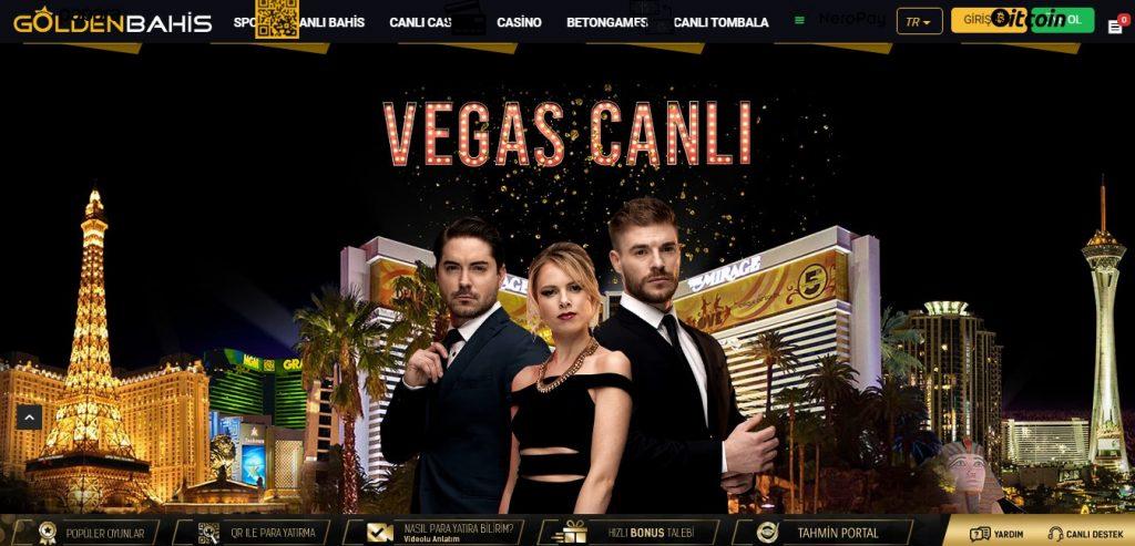 Goldenbahis Casino Oyunları