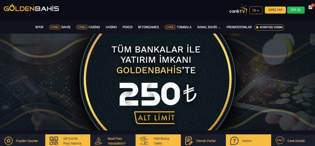 Goldenbahis Online Hakkında