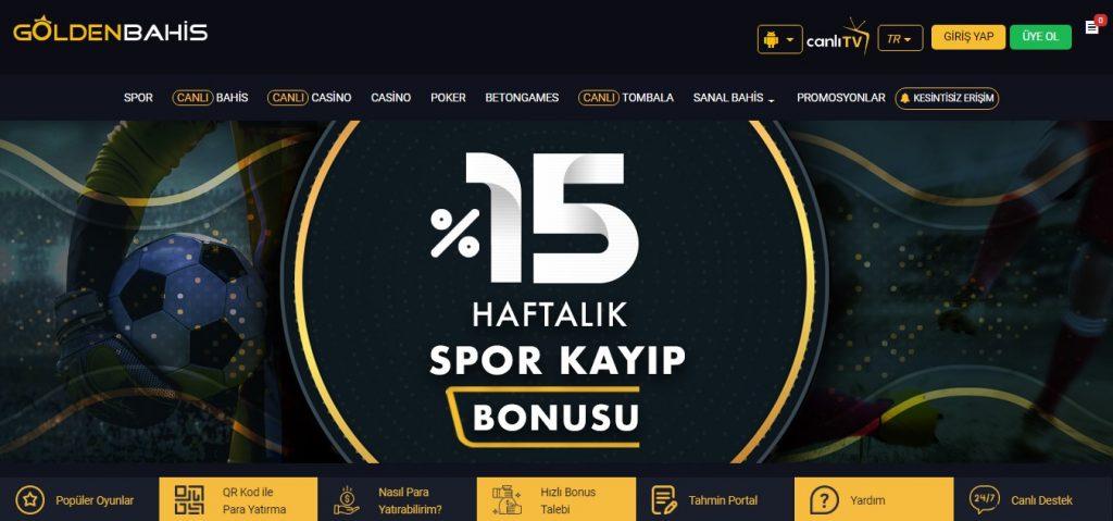 Goldenbahis Sitesi Diğer Casino Oyunları