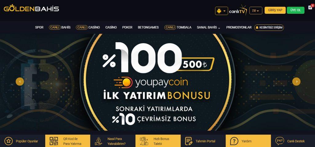 En Güvenilir Canlı Casino Oyunları Goldenbahiste