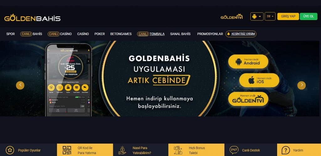 Goldenbahis Casino 2020