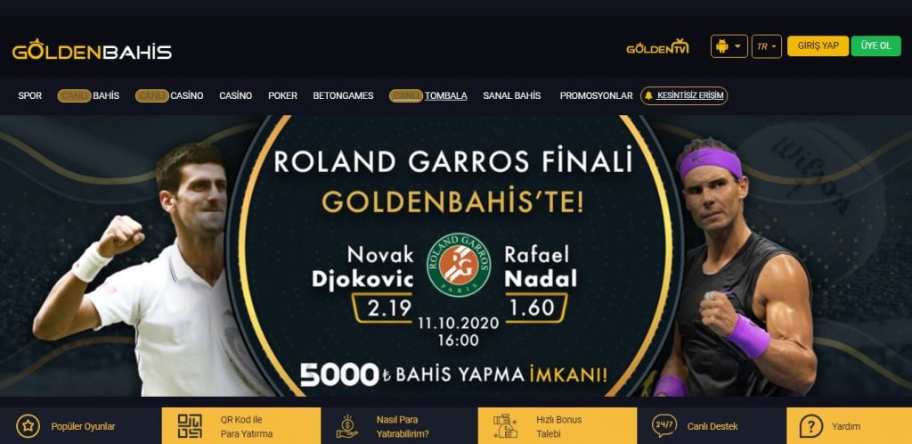 Goldenbahis Bahis Sitesi 2020